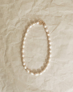 Classic Pearl Necklace: Maxi