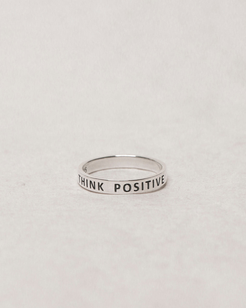 THINK POSITIVE Ring