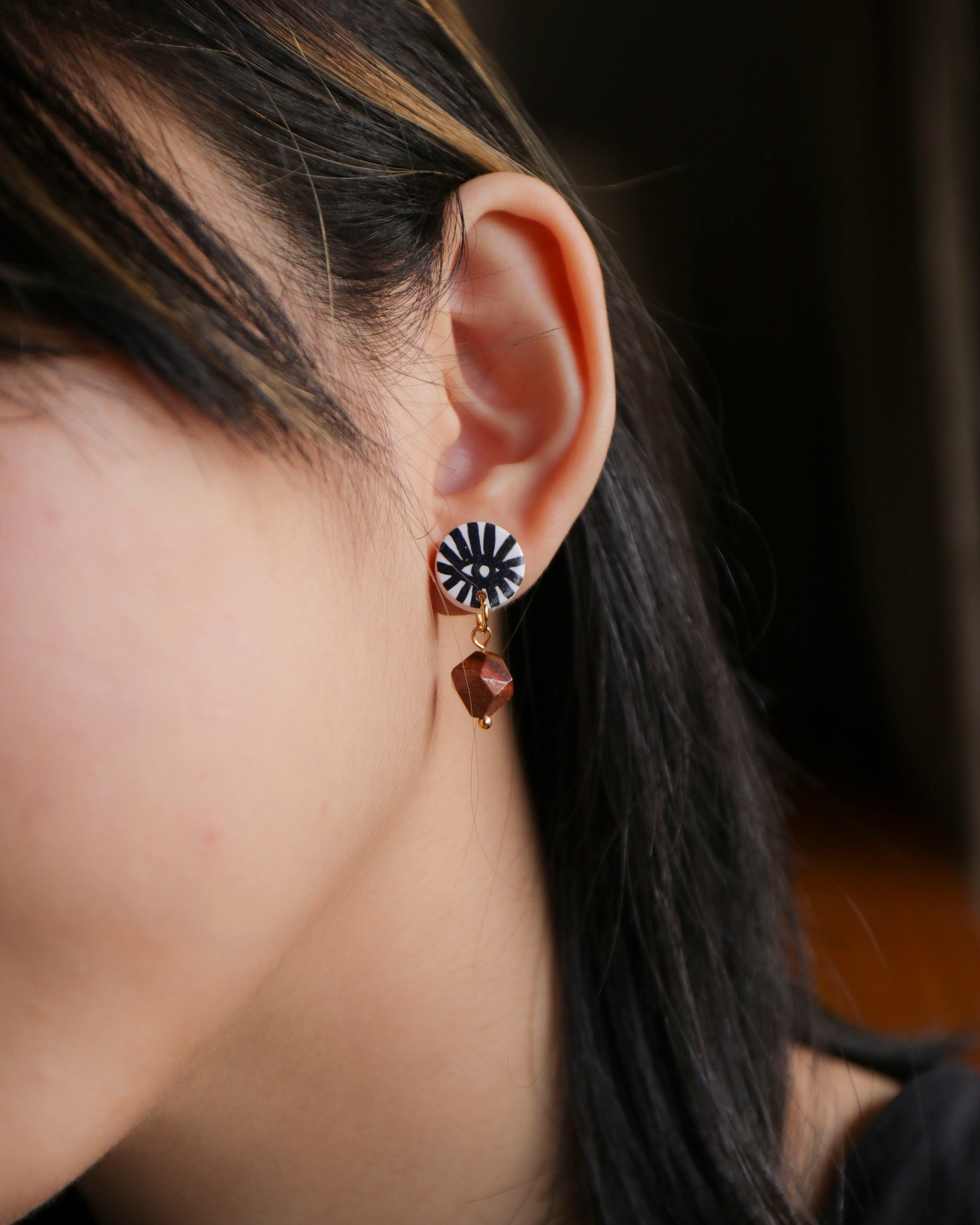 Eye Studs: Asymmetry (6)