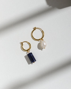 Charms: Oblong Pearl