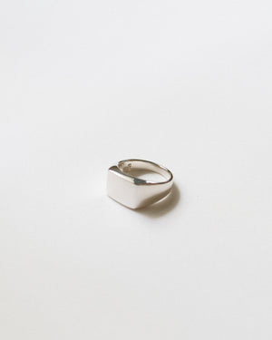 Block Signet Ring