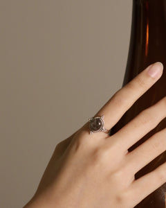 Constance Ring in Rutilated Quartz