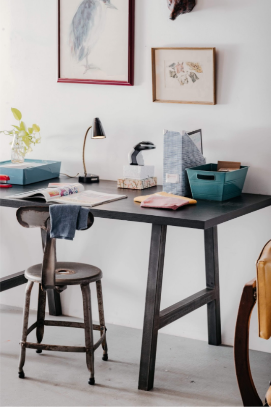 A-Frame Tube Steel Table Leg Desk