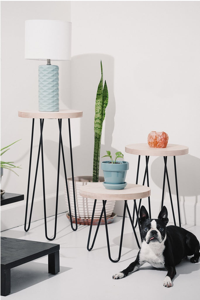DIY Hairpin Legs Classic Hairpin Leg Side Table