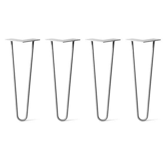 DIY Hairpin Legs Hairpin Leg Sets Set of 4 Hairpin Legs, 2-Rod Design