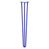 Hairpin Leg (Sold Separately), 3-Rod Design - Blue Powder Coated Finish