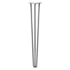 Hairpin Leg (Sold Separately), 3-Rod Design - Clear Coated Finish