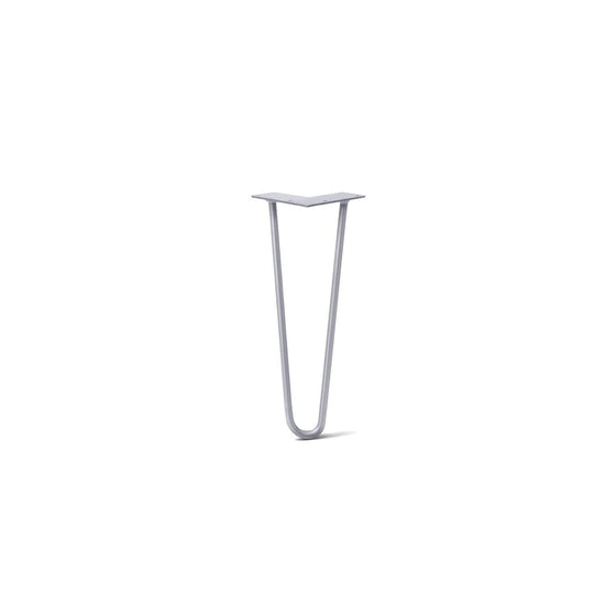 Hairpin Leg (Sold Separately), 2-Rod Design - Grey Powder Coated Finish