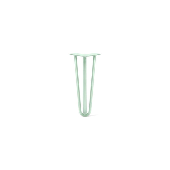 Hairpin Leg (Sold Separately), 3-Rod Design - Mint Powder Coated Finish