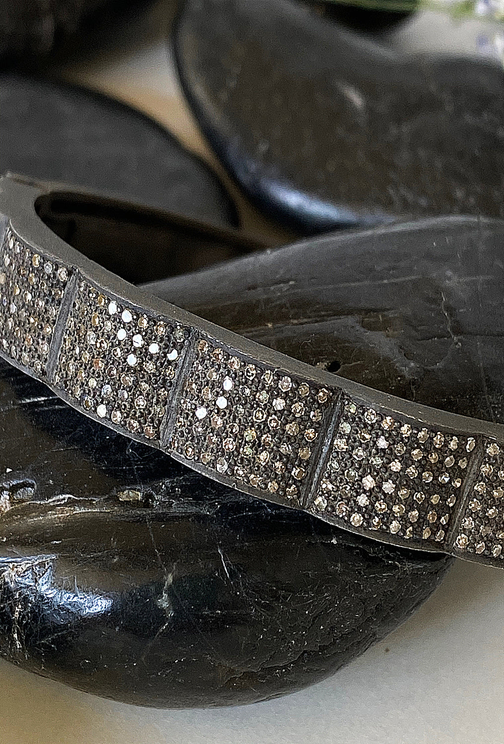 Nathan & Moe Diamond Wave Bangle
