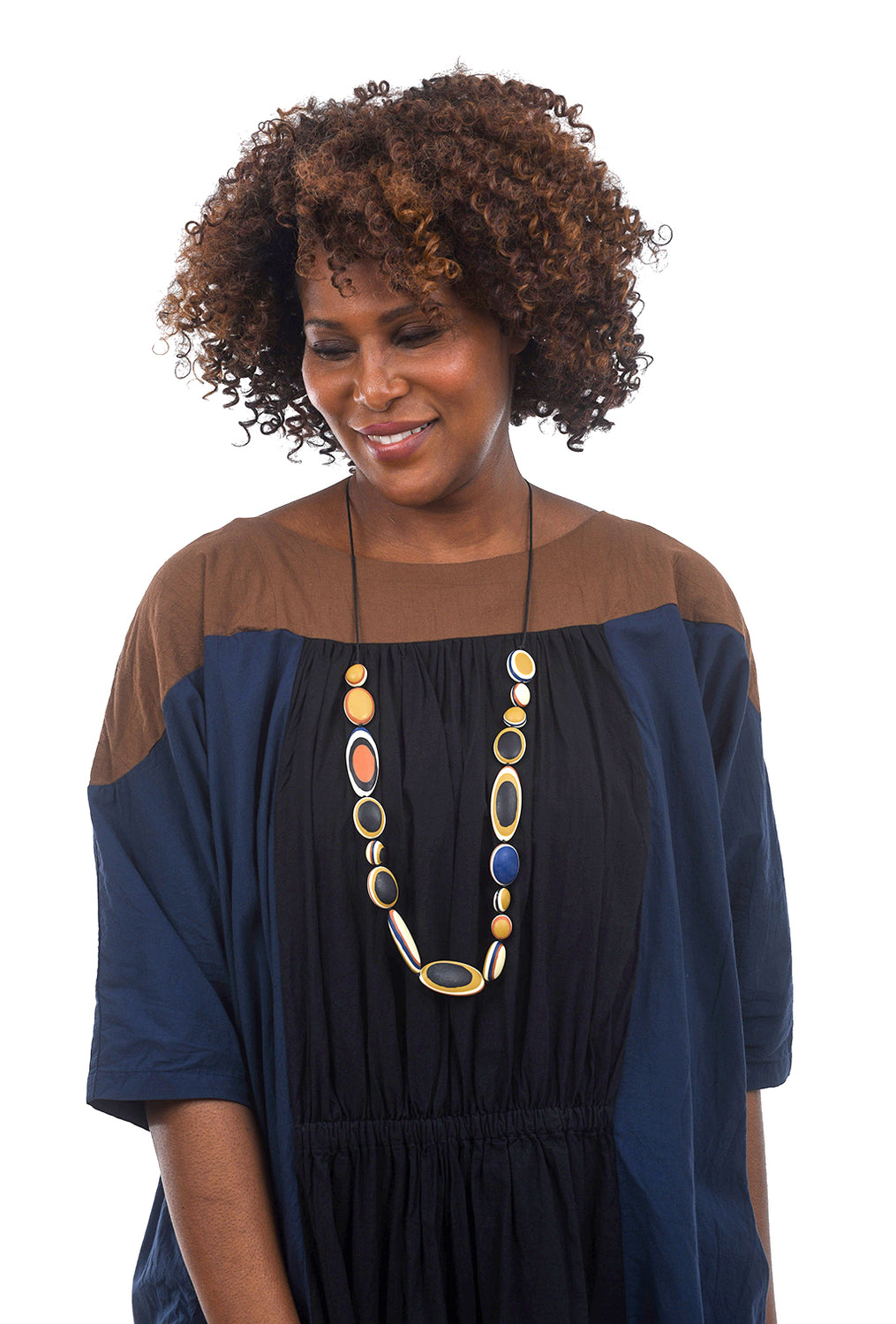 Sylca Designs Tina Necklace, Camel