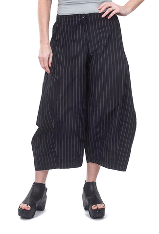 Sun Kim Two-Pocket Ankle Pants, Ricki Stripe