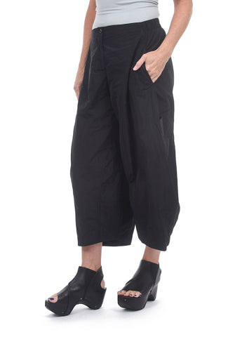 Sun Kim Two-Pocket Ankle Pants, Black