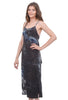 Coin1804 Sexy Softy Tie-Dye Dress, Black
