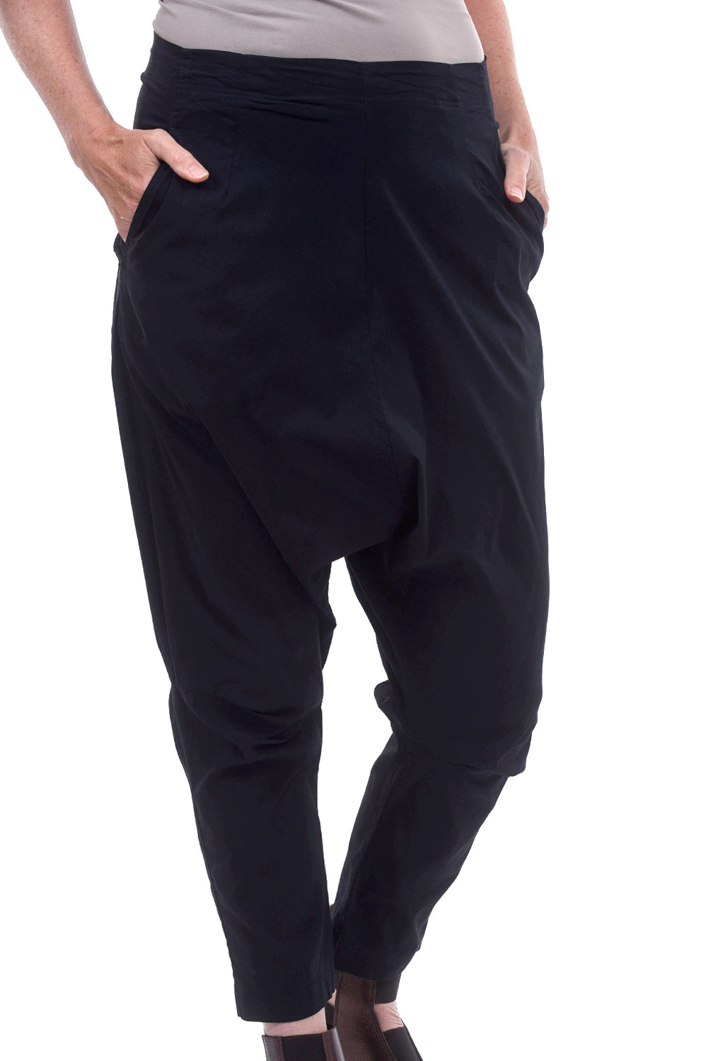 Rundholz Black Label Stretch Slouch Pants, Martinique Navy