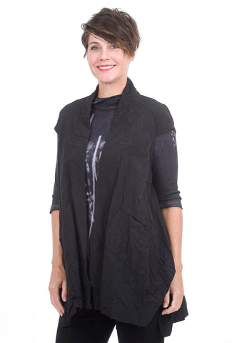 Moonlight Johanna Vest, Black