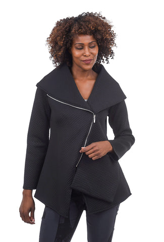 Jason by Comfy USA Scuba Beyonce Jacket, Black
