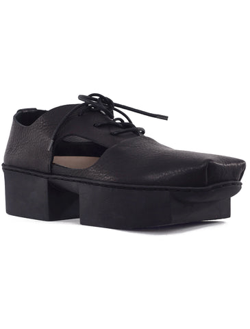 Trippen Shoes Lui Box Oxford, Black Waw