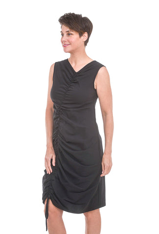 Veronique Miljkovitch Sophie Soft Dress, Black