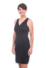 Wearables by XCVI Saltator Stretch Poplin Dress, Black