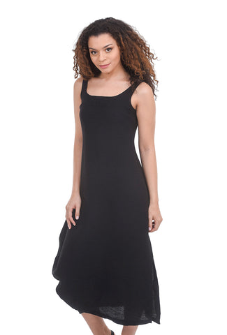 Porto Virgin Dress, Black