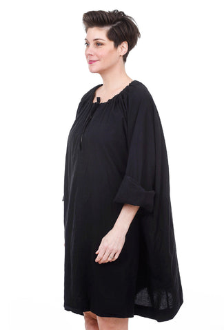 Uzi NYC Uzi Nina Dress, Black One Size Black