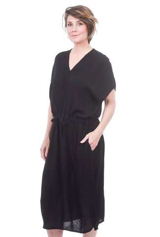 Tonle Kaftan Dress, Black