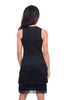 Alquema Gatsby Dress, Black One Size Black