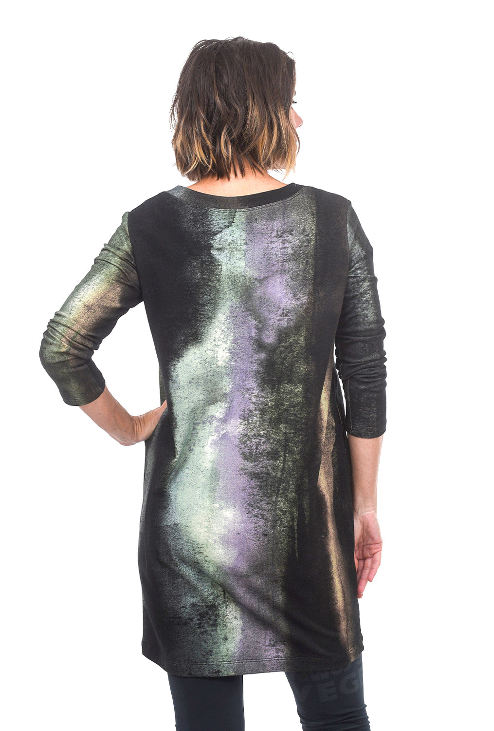 Veronique Miljkovitch Magda Fleece Tunic, Space Print