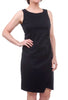 Porto Ashby Tech Sheath Dress, Black