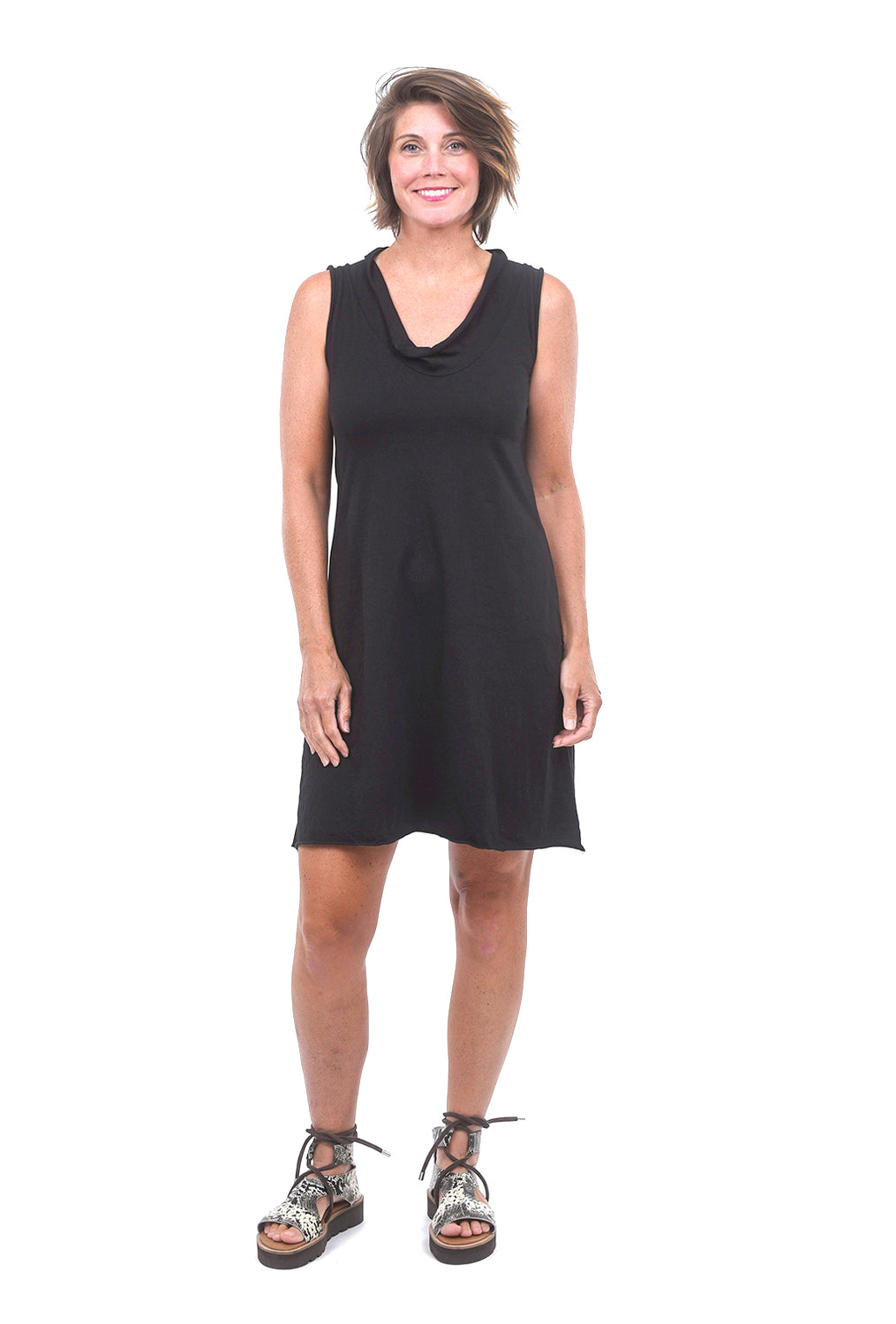 Prairie Underground S/L Falconet Dress, Black