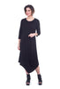 Jason by Comfy USA Rachel Dress, Black