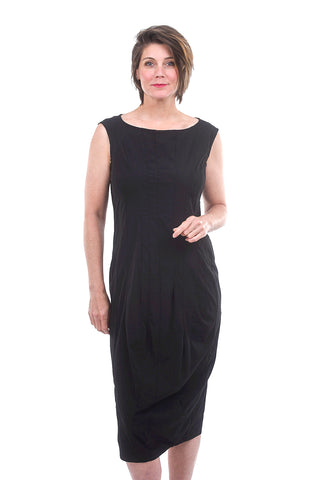 Rundholz Black Label Stretch Seamed Sleeveless Dress, Black