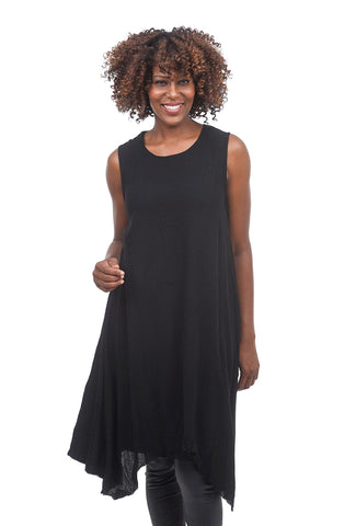 Studio B3 Katya Sleeveless Tunic, Black