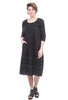 Tulip Byron Dress, Black
