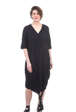 Gershon Bram Panama Dress, Black