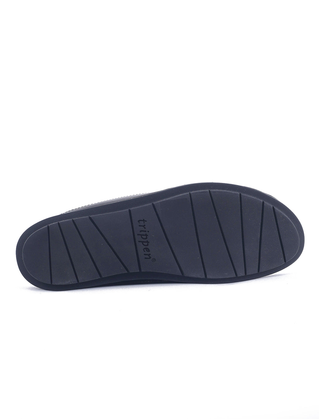 Trippen Shoes Inertia Swan, Black VST