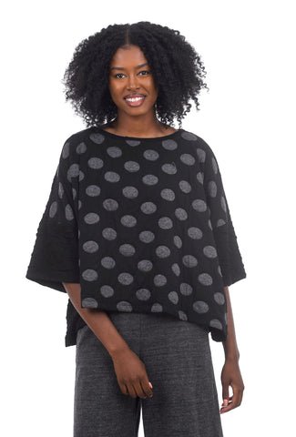 Ozai Calanthe Dot Top, Black
