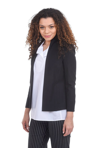 Estelle & Finn Shaped Jacket, Black