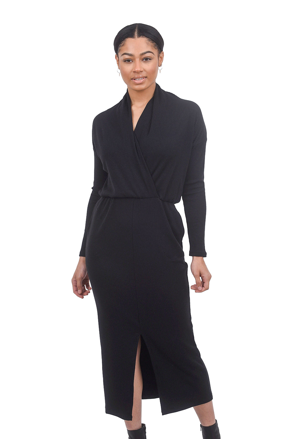 Sarah Liller Lana Dress, Black