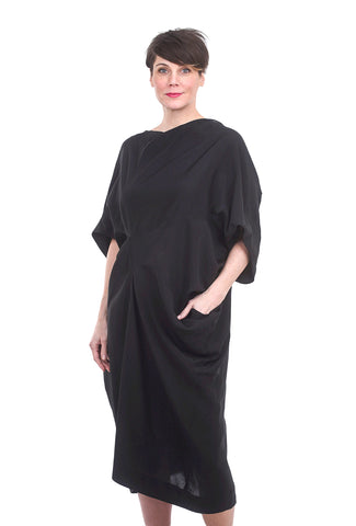 Moyuru Gallerist Dress, Black