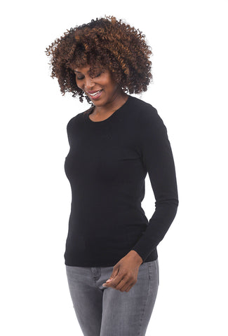 Sisters Spare Crew Sweater, Black