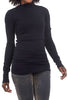 Prairie Underground Layered Mockneck Top, Black
