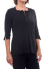 Sympli Clothing Zest It Up Top, Black