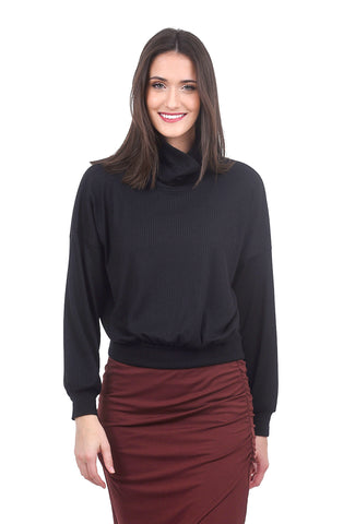 Sarah Liller Georgia Top, Black