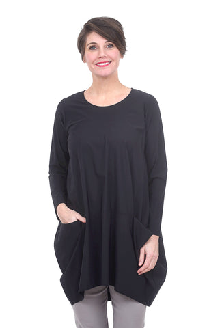 Jason by Comfy USA Portofino Tunic, Black
