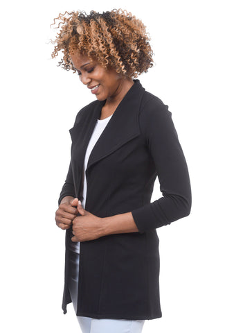 Eva Varro Fused Marbella Jacket, Black