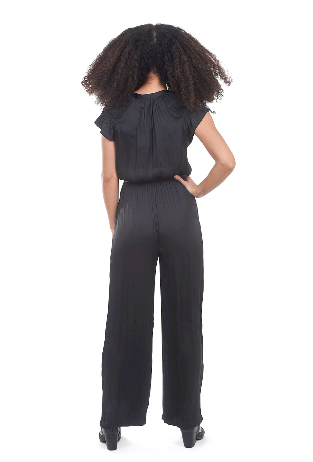 Current Air Victorian Jumpsuit, Black