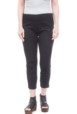 XCVI Jetter Cropped Leggings, Black