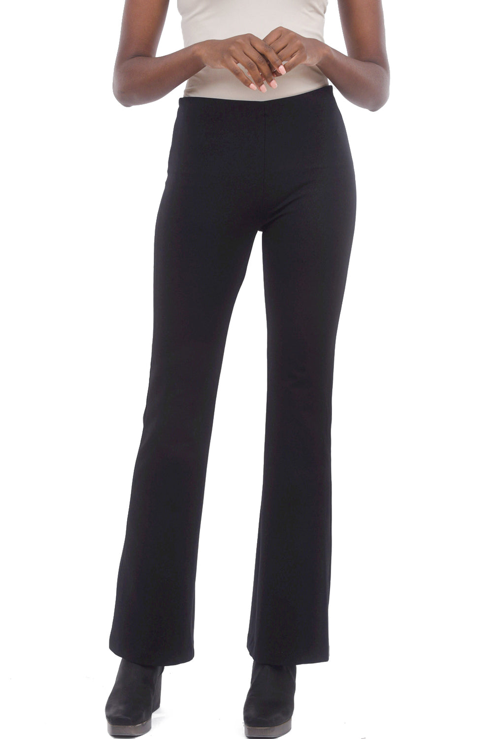 Equestrian Ponte Tech Miley Pant, Black
